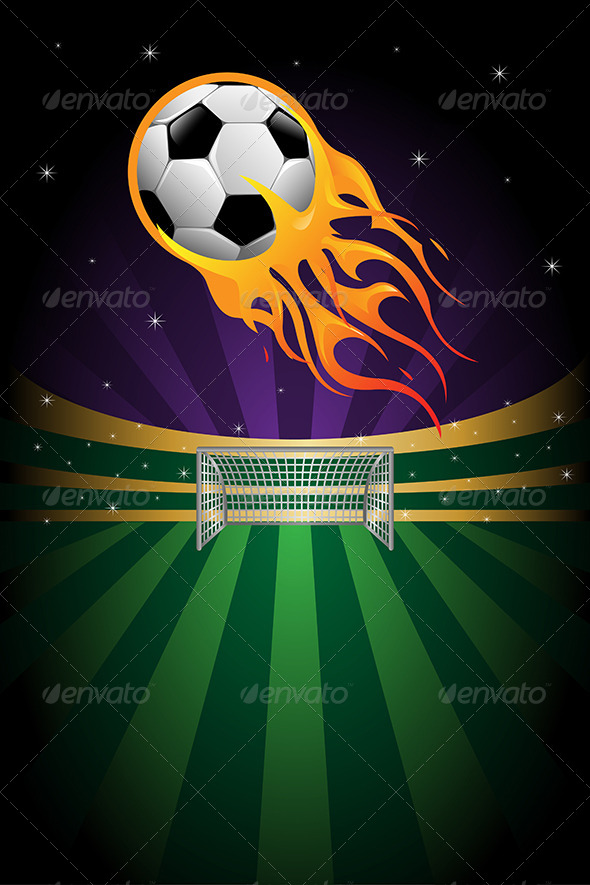 GraphicRiver Soccer Background 6176606
