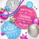 Cardboard Labels with Christmas Greetings - GraphicRiver Item for Sale