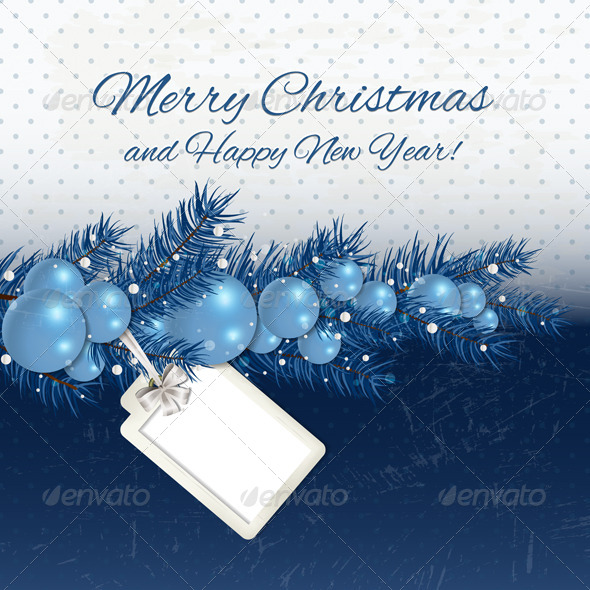 GraphicRiver Merry Christmas Background 6177491