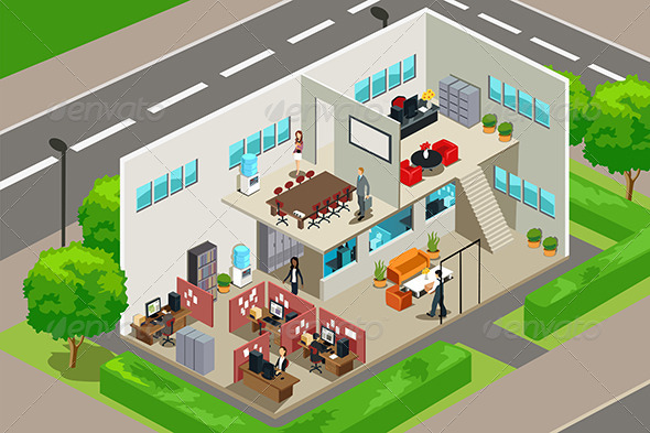 GraphicRiver Business Office 6177570