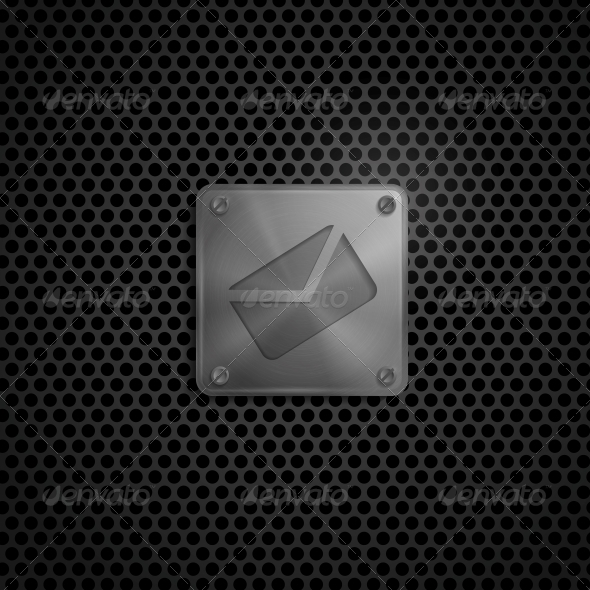 GraphicRiver E-mail Sign On Metal Texture 6177940
