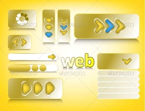 GraphicRiver Web Design Elements 6181122