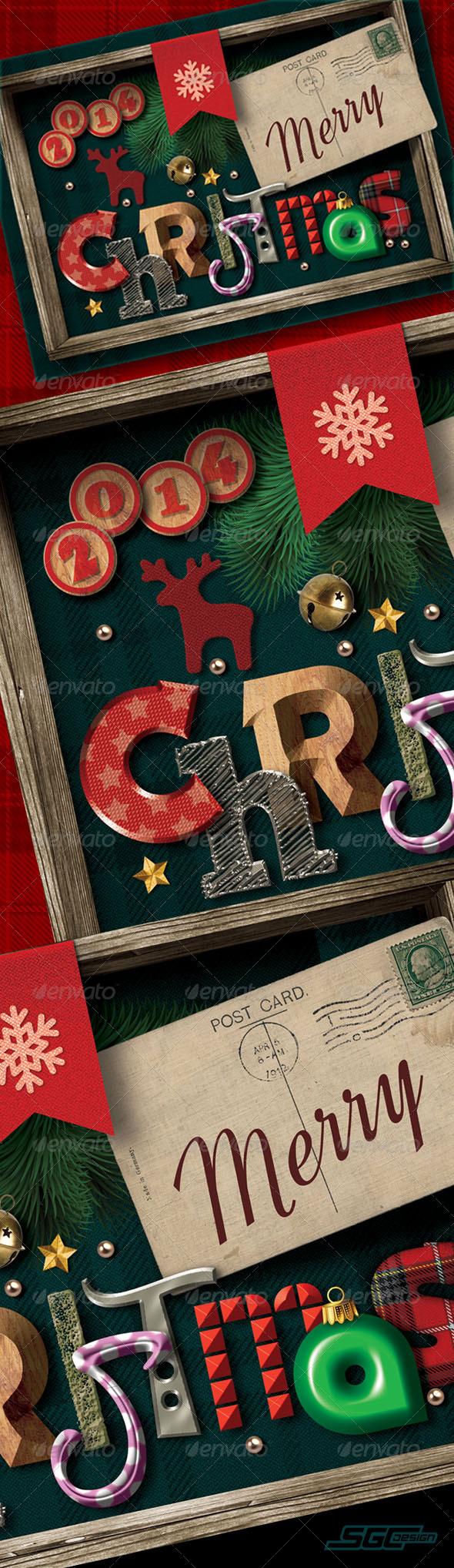 GraphicRiver Christmas Greeting Card 6181139
