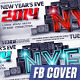 NYE Party Facebook Covers - GraphicRiver Item for Sale