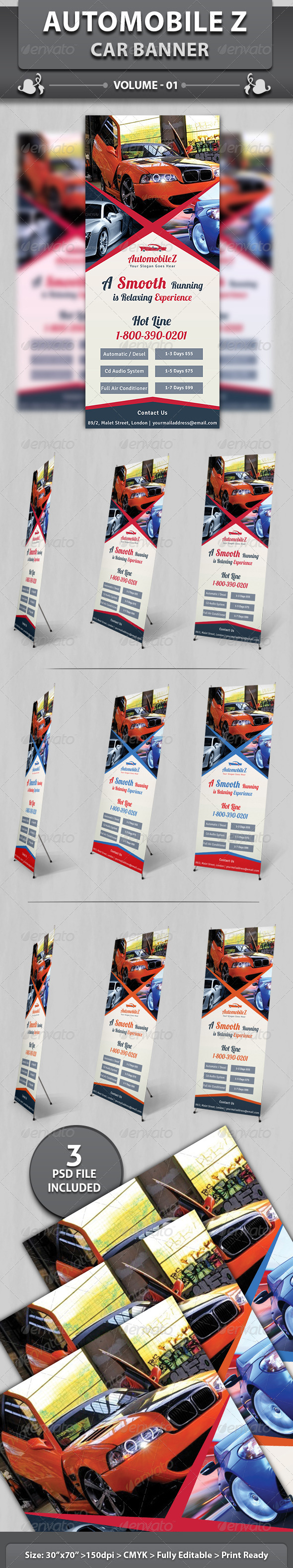 GraphicRiver AutoMobileZ Car Banner v1 6182306