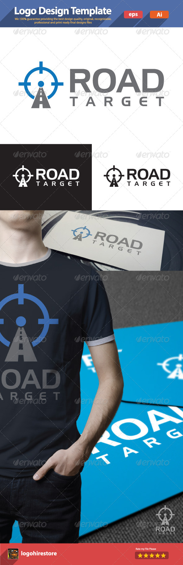 GraphicRiver Road Target 6183176
