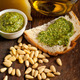 Italian basil pesto bruschetta ingredients - PhotoDune Item for Sale