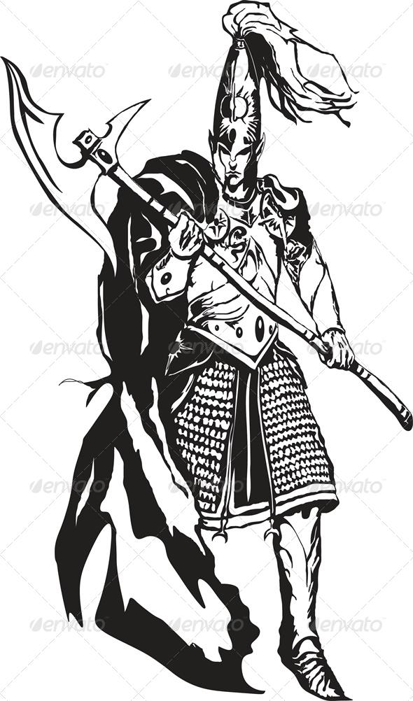 GraphicRiver Warrior 6184148