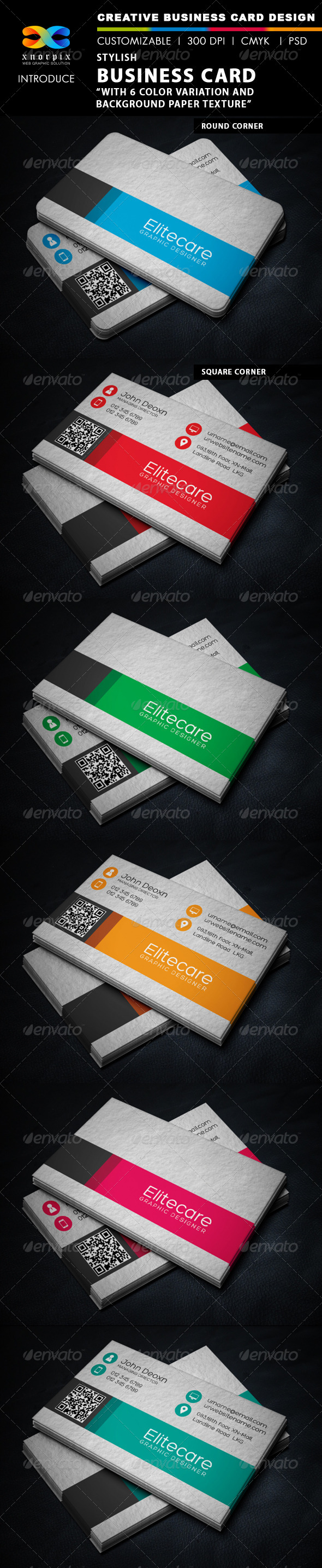 GraphicRiver Stylish Business Card 6184197