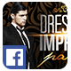 Dress to Impress Party | Facebook Cover - GraphicRiver Item for Sale