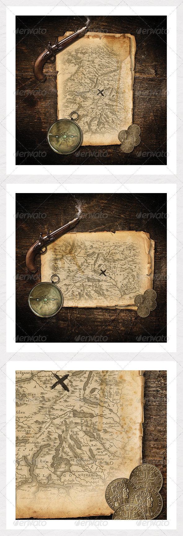 GraphicRiver Treasure Map Create your own 6070144