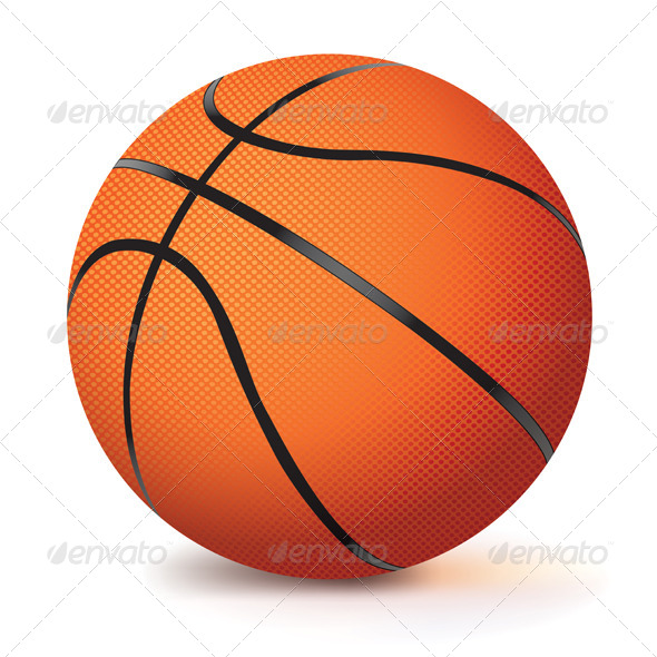 GraphicRiver Realistic Vector Basketball 6185436
