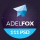 AdelFox | Multi-Purpose PSD Template (Business) Download