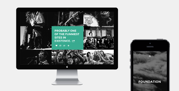 ThemeForest Foundation Tumblr Theme 6185346