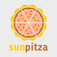 Sun Pitza Logo  - GraphicRiver Item for Sale
