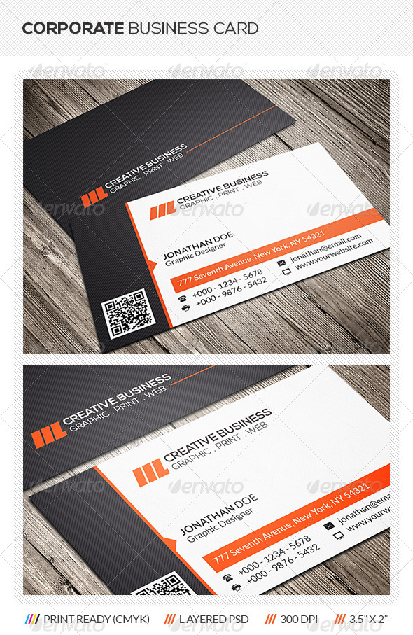 GraphicRiver Modern Business Card 6187738