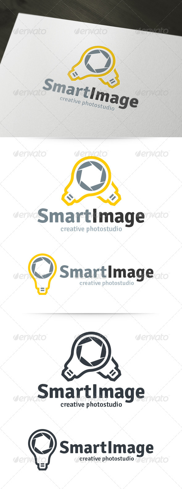 GraphicRiver Smart Image Photography Logo 6188162