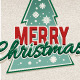 Retro Merry Christmas Typography - GraphicRiver Item for Sale