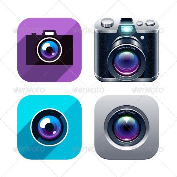 GraphicRiver Photo App Icons 6188533