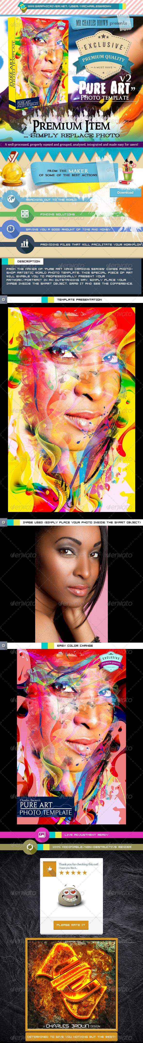 GraphicRiver Pure Art Photo Template v2 6161783