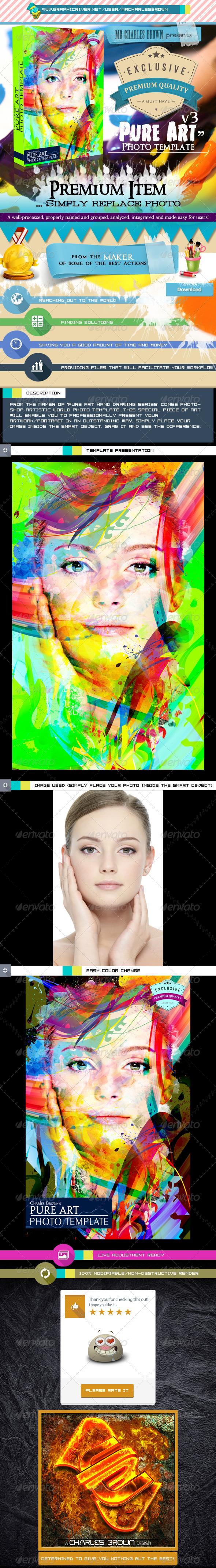 GraphicRiver Pure Art Photo Template v3 6161828