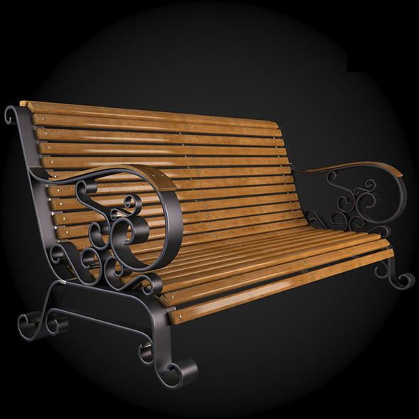 3DOcean Bench 007 6190250