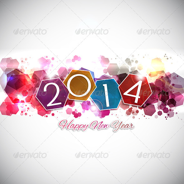 GraphicRiver Happy New Year Background 6190350