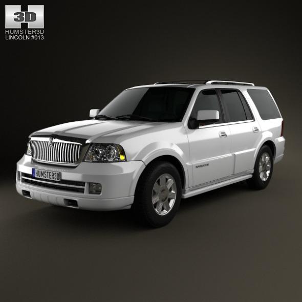 3DOcean Lincoln Navigator U228 2003 6190372