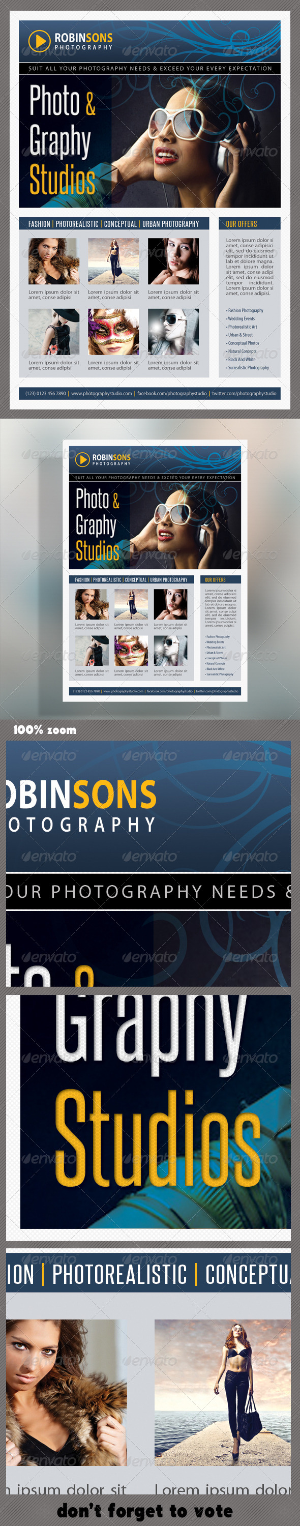 GraphicRiver Corporate Product Flyer 44 6190859