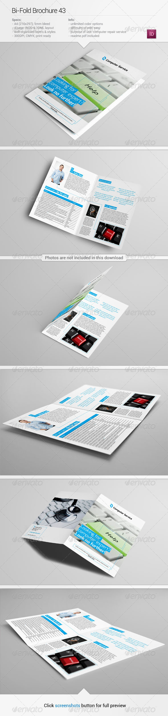 Bi fold brochure 43 informational brochures for Bi fold brochure template illustrator