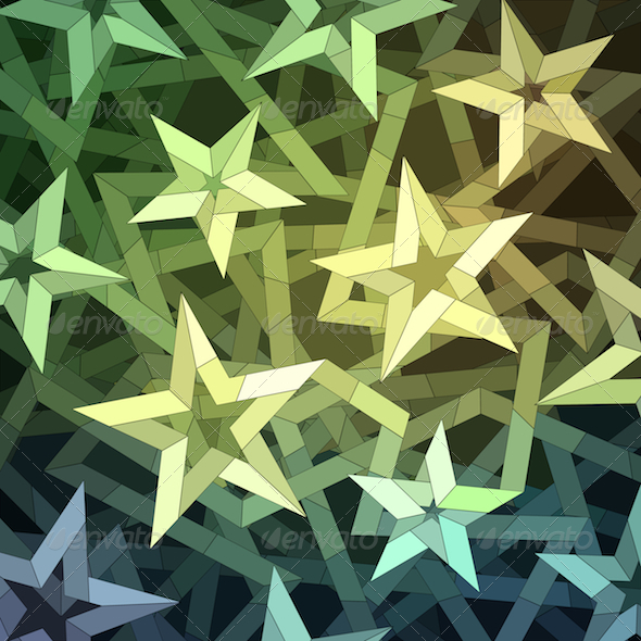 GraphicRiver Christmas Starry Pattern 6191467
