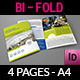 Company Brochure Bi-Fold Template - GraphicRiver Item for Sale