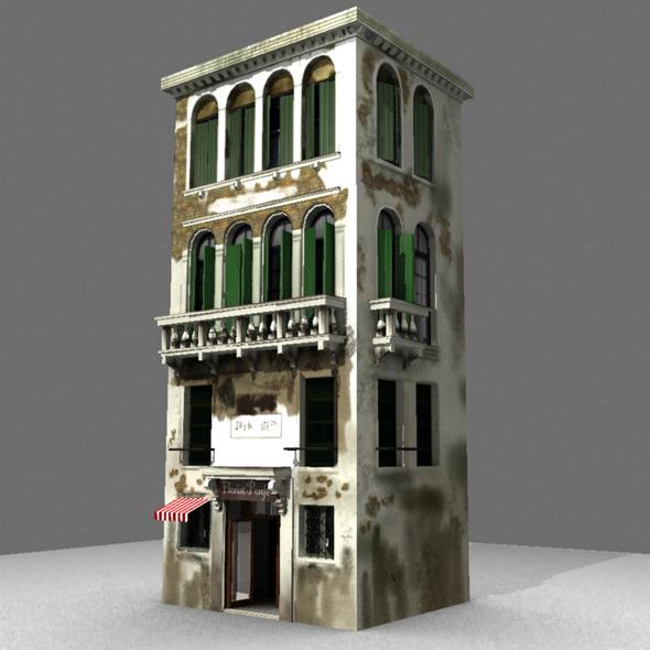 3DOcean Venice Building 6192342