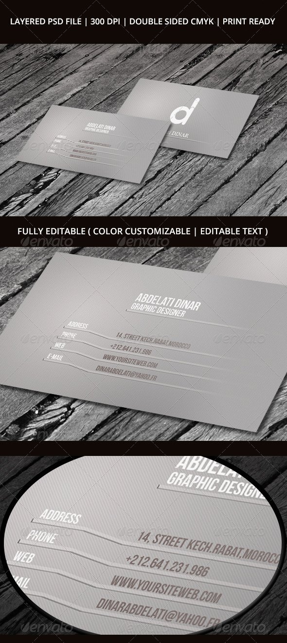 Business Card 02 - Creative Business Cards