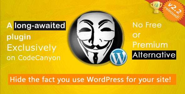 Hide My WP - No one can know you use WordPress! - CodeCanyon Item for Sale