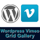 Responsive Wordpress Vimeo Grid Video Gallery - CodeCanyon Item for Sale