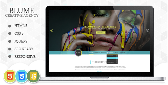 Blume Responsive HTML Template - Fashion Retail