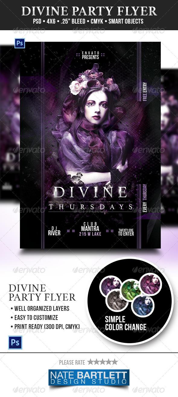 GraphicRiver Divine Party Flyer 6193255
