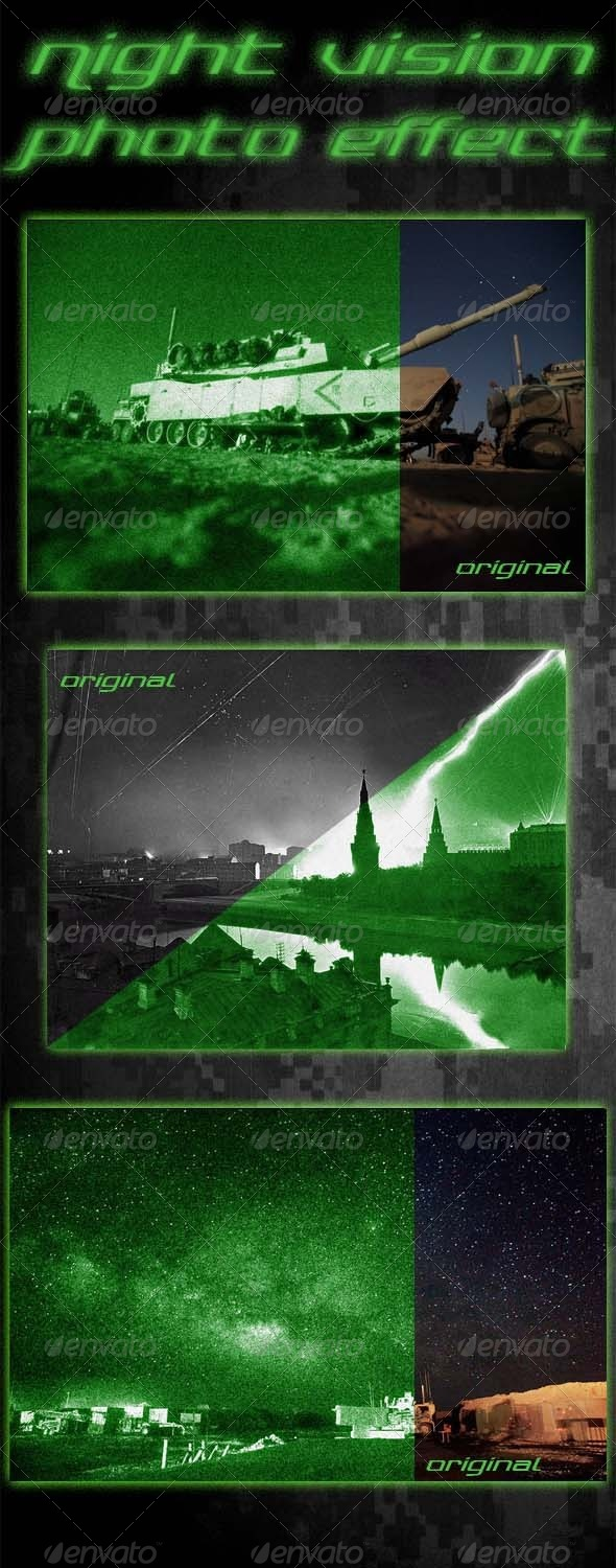 GraphicRiver Night Vision Photo Effect 6193605