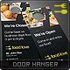 Food Love Door Hanger - GraphicRiver Item for Sale