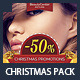 Beauty Center & Spa Christmas Promotions Pack - GraphicRiver Item for Sale