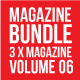 3 X Magazine Collection (Mgz Bundle Vol. 06) - GraphicRiver Item for Sale