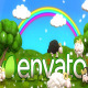 Happy Sheeps at Meadow Logo Reveal - VideoHive Item for Sale