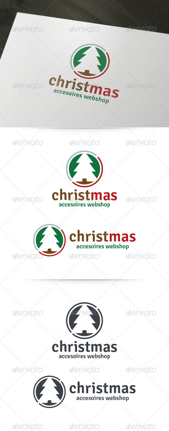GraphicRiver Christmas Shop Logo 6197423
