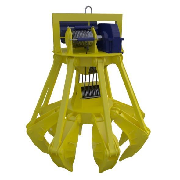 3DOcean Crane Claw Rigged 6197448