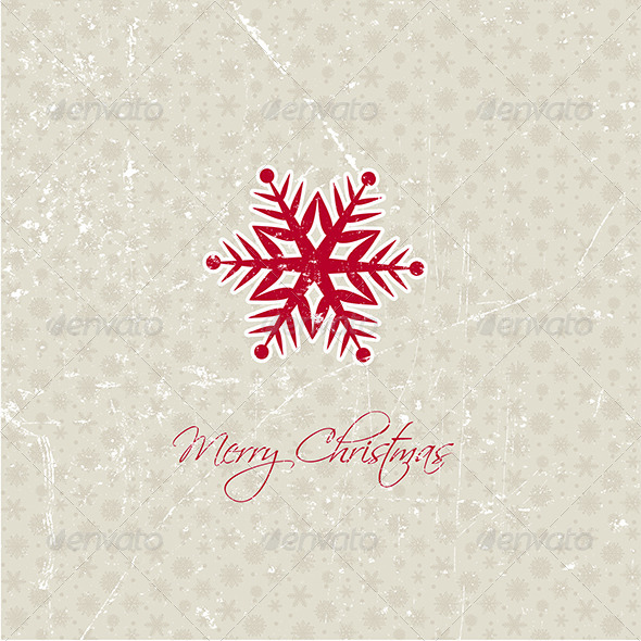 GraphicRiver Snowflake Background 6198075
