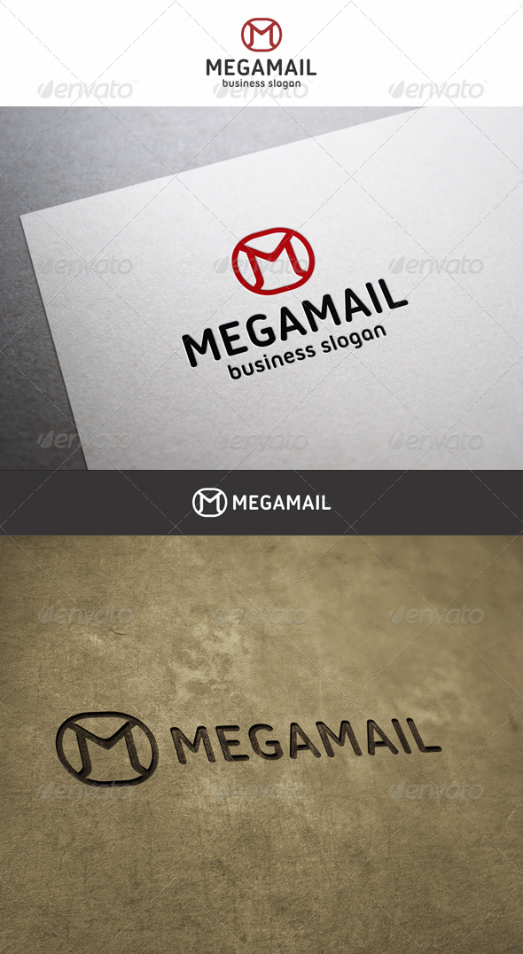 GraphicRiver Mega Mail M Logo 6198536