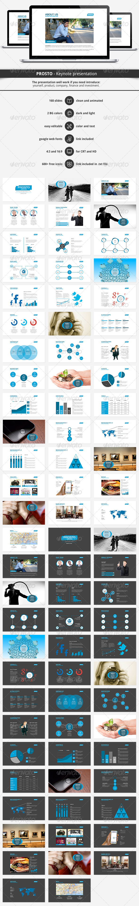 GraphicRiver Prosto Keynote Presentation 6194211