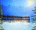 Snow Winter Backdrop - PhotoDune Item for Sale
