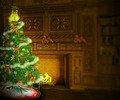 Christmas Tree Interior Backdrop - PhotoDune Item for Sale
